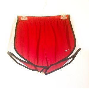 NIKE Fit Dry Red Running Shorts